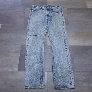 VTG Levi's Acid Washed Jeans 32